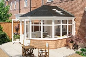 Celsius Tiled Roof uPVC Conservatory
